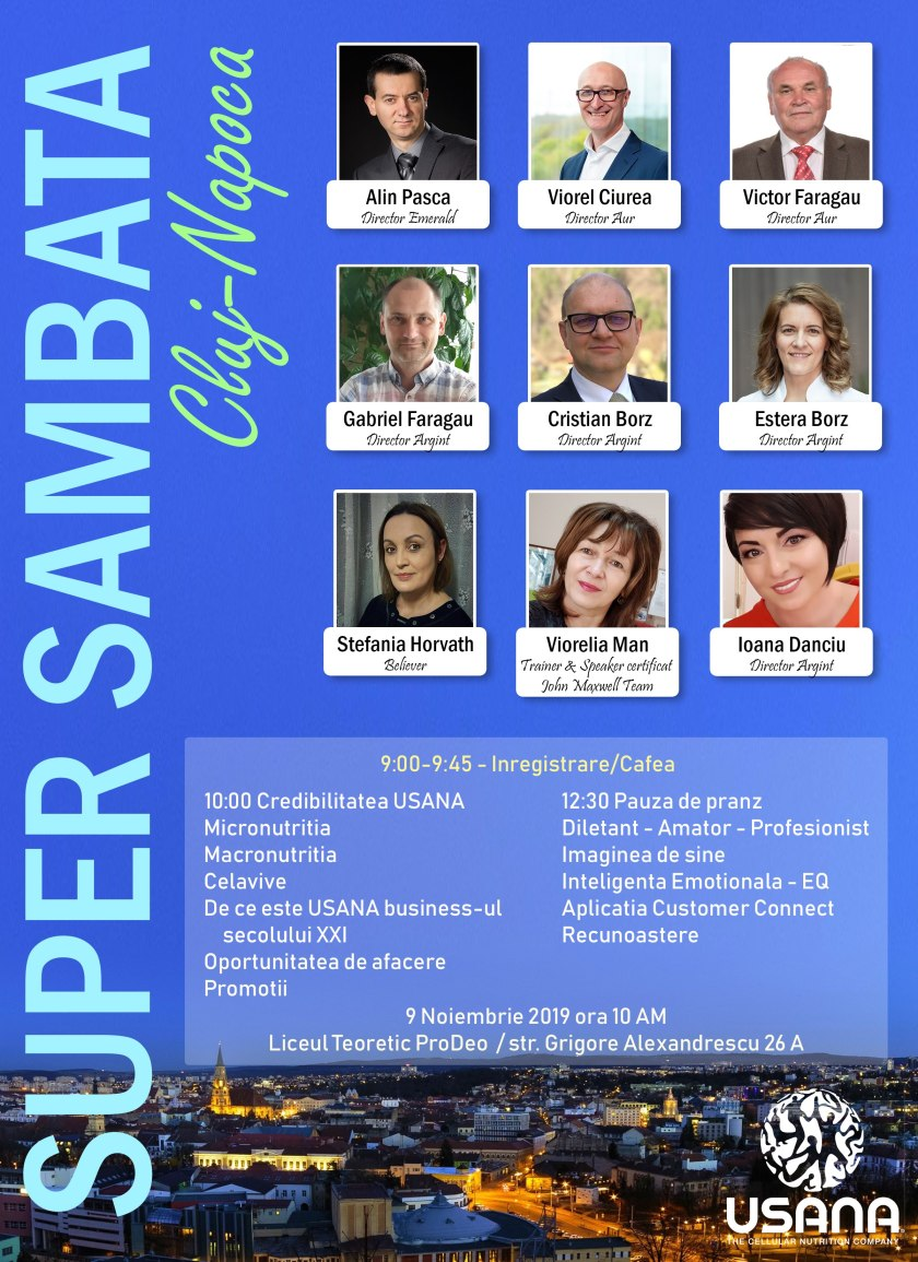 SuperSambata 1 Cluj-Napoca - 9 nov 2019